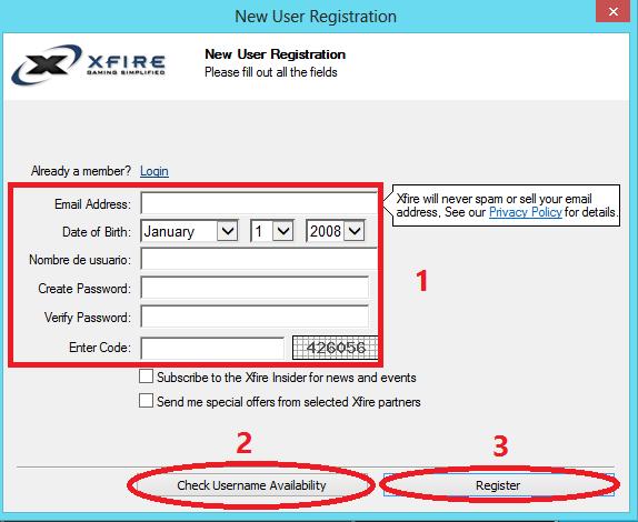 Xfire Gaming Client - Guía de instalación y uso [En Desuso] 4
