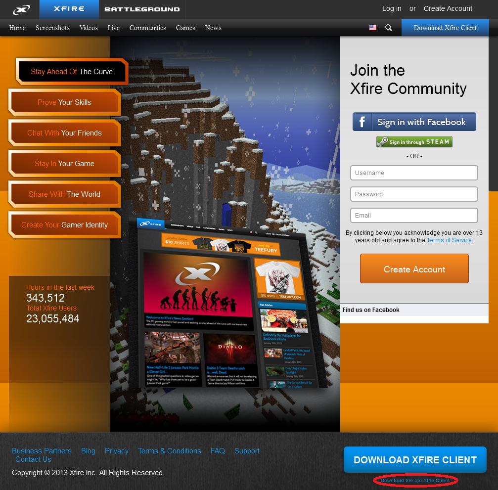 Xfire Gaming Client - Guía de instalación y uso [En Desuso] 1