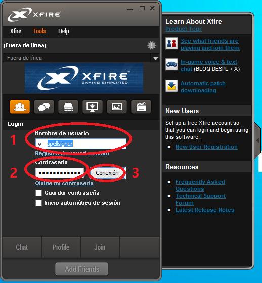 Xfire Gaming Client - Guía de instalación y uso [En Desuso] 5
