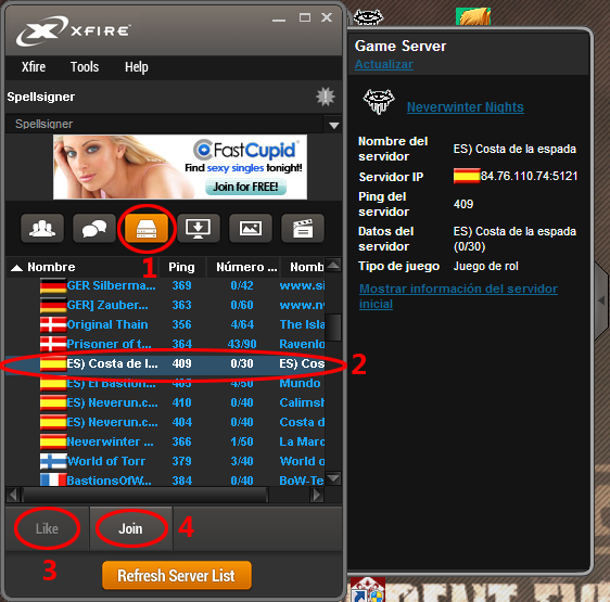 Xfire Gaming Client - Guía de instalación y uso [En Desuso] 8
