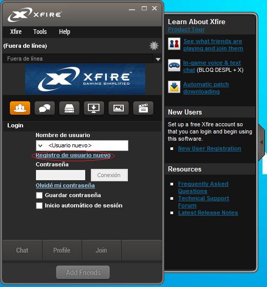 Xfire Gaming Client - Guía de instalación y uso [En Desuso] 3